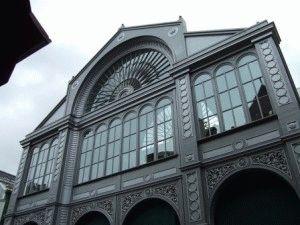 Borough Market рынок Бороу Лондон фото здания