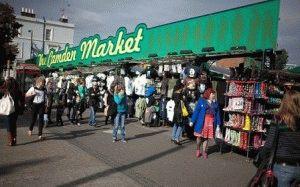 Camden Market рынок Кэмден Лондон фото