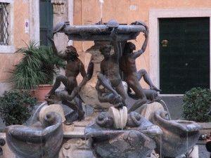 фонтаны Рима - фонтан Черепах фото