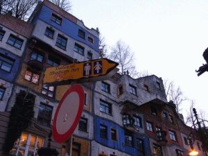 Hundertwasser архитектура фото