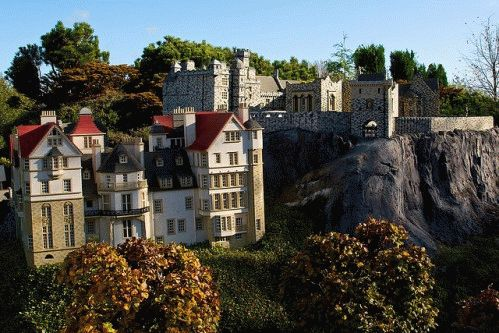 Миниатюрные городки из Лего фото