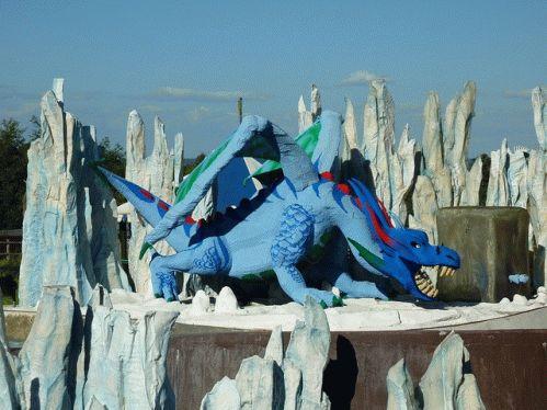 Legoland дракон фото
