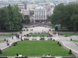 Montmartre великолепная обзорная точка на Париж фото