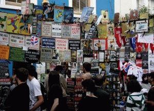 Portobello Market Рынок Портобелло Лондон фото