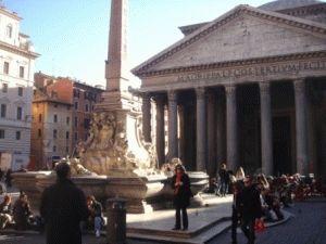 panteon Пантеон в Риме фото