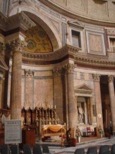 panteon Пантеон в Риме внутри фото