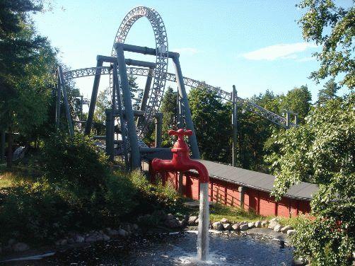 Тампере, Финляндия - фото в парке Сарканниеми