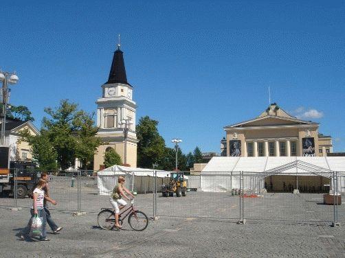 Тампере, Финляндия - фото города