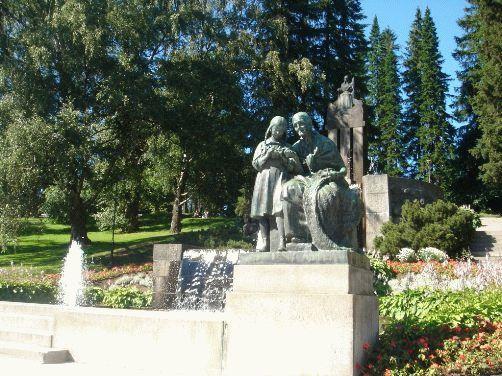 Тампере, Финляндия - фото скульптуры