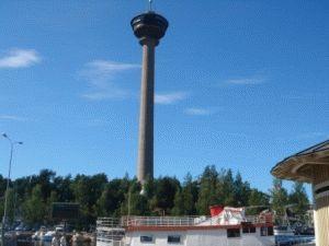 Тампере – обзорная башня Нясиннеула фото
