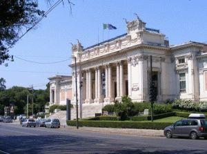 Национальная галерея современного искусства в риме фото
