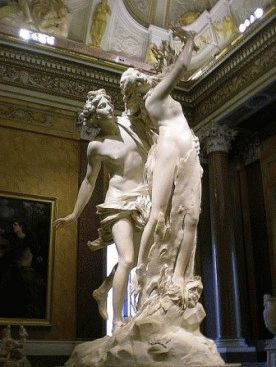 Galleria Borghese - Apollo e Dafne di Bernini Аполлон и Дафна Бернини