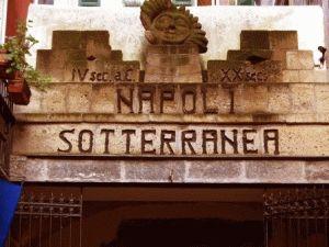 катакомбы Napoli Sotterranea Неаполь