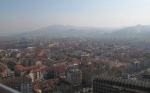 вид на Турин - фото с Моле Антонеллиана