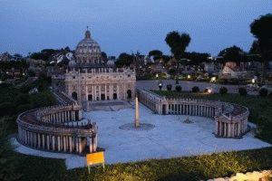 Италия в миниатюре макет Собор Святого Петра фото