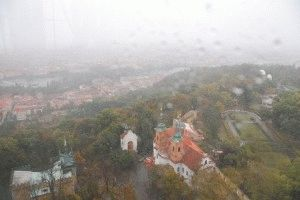 Петршин холм вид со смотровой площадки фото