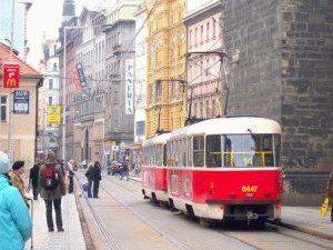 Городской транспорт в Праге фото