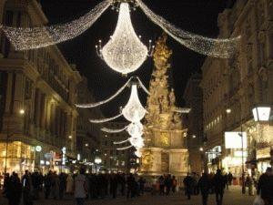 Рождественская Вена фото Грабен