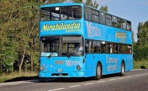 Как добраться до парка Мирабиландия бесплатный автобус