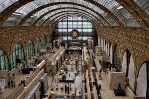 Музей Орсе железнодорожный вокзал фото
