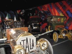 Музей Автомобилей в Турине фото машины