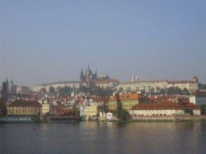 Пражский Град фото с реки