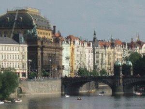 экскурсия по Влтаве на кораблике фото