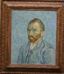 автопортрет Ван Гога музей Орсе фото