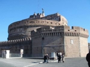 Адрес Замка Святого Ангела в Риме