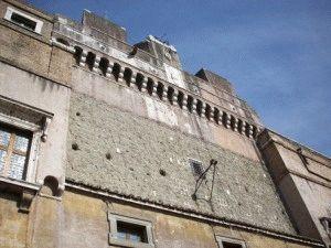Замок Святого Ангела в Риме отверстия масло фото