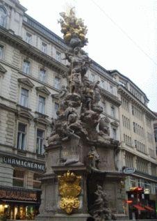 вена памятник чуме Чумная колонна фото