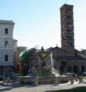 Санта-Мария-ин-Космедин церковь в Риме фото