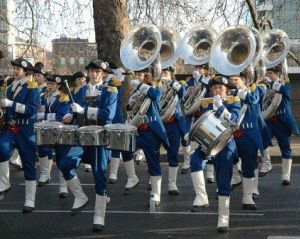 Новогодний Лондонский парад фото
