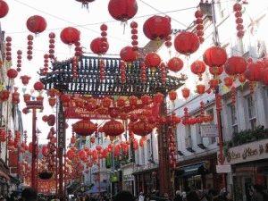 Китайский новый год в Лондоне фото