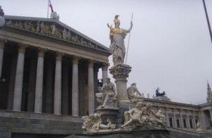 Парламент Ринг Афина Вена фото