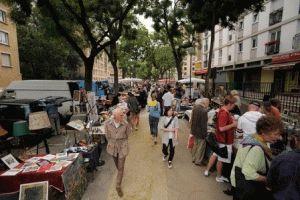 Porte de Vanves Париж блошиный рынок фото