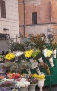 campo-dei-fiore площадь цветов в риме фото