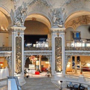 Дворец открытий внутри выставки фото