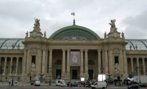 Grand Palais Большой дворец Париж фото
