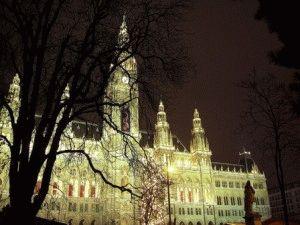 Ратуша (Rathaus) вена фото