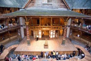 внутри театра глобус лондон фото