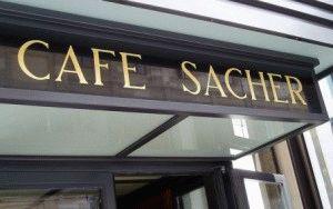 Кафе Sacher Вена адрес