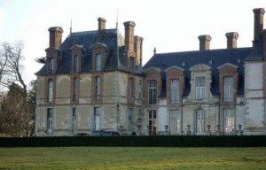 замок туари париж франция фото
