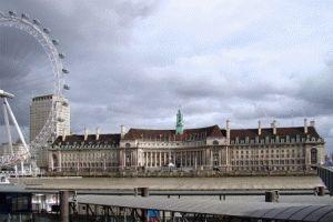 Каунти-холл (County Hall) Лондон фото