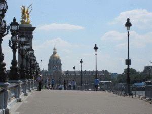 Pont Alexandre III Париж моста Александра 3 фото