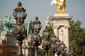 Pont Alexandre III Мост Александра III фото