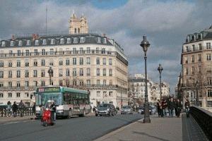 Pont Notre-Dame Мост Нотр-Дам париж фото