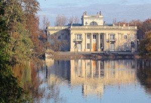 Крулевски Лазенки парк Варшава фото