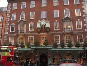 Fortnum & Mason магазин Лондон фото