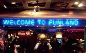 центр развлечений Фанленд Funland фото